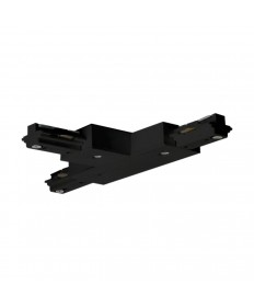 """Nuvo Lighting TP149 """"T"""" Connector Black Connects three track rails together in a """"T"""" shape pattern"""