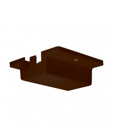 Nuvo Lighting TP202 Nuvo Track Lighting Floating Canopy Brown