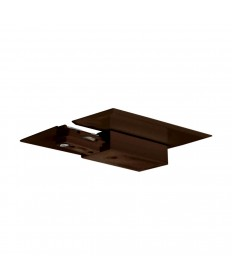Nuvo Lighting TP204 Nuvo Track Lighting Brown Live End & Canopy